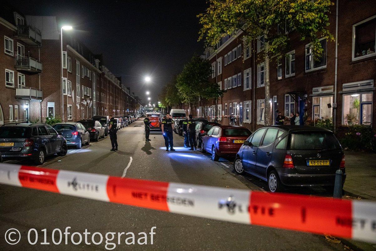 Melding politie Da Costastraat Rotterdam