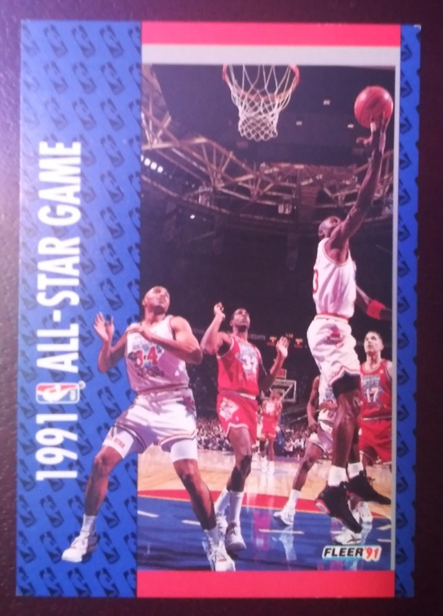 1991 Fleer Michael Jordan MJ All-Star East available for $25.00 on the Scouting Report Collectors Arena. Get the App: https://t.co/PpyDwgiYFE #sportscards #thehobby @HobbyConnector https://t.co/za0AO3YuE6