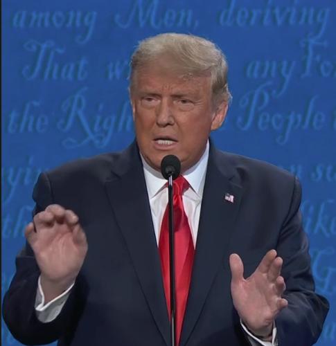 Trump says 'it's China's fault coronavirus came here' #Debates2020