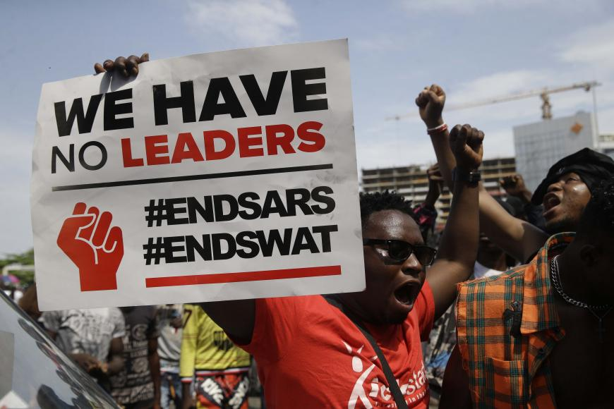 Appalled by the recent shooting of #EndSARs protesters in Lagos, & as violence is escalating, @hrw joins @AmnestyNigeria & 11 other groups to call on the Nigerian authorities to stop the use of excessive force & work towards justice. and meaningful reform trib.al/xHE85dh