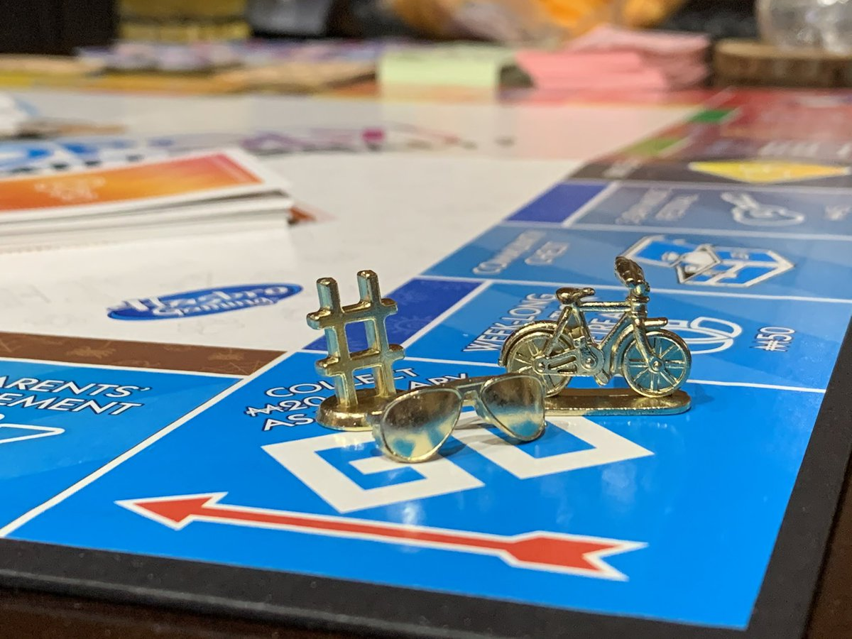 I played a lot of millennial monopoly #ernestly30 #coronacation https://t.co/q3ZMaPzioj
