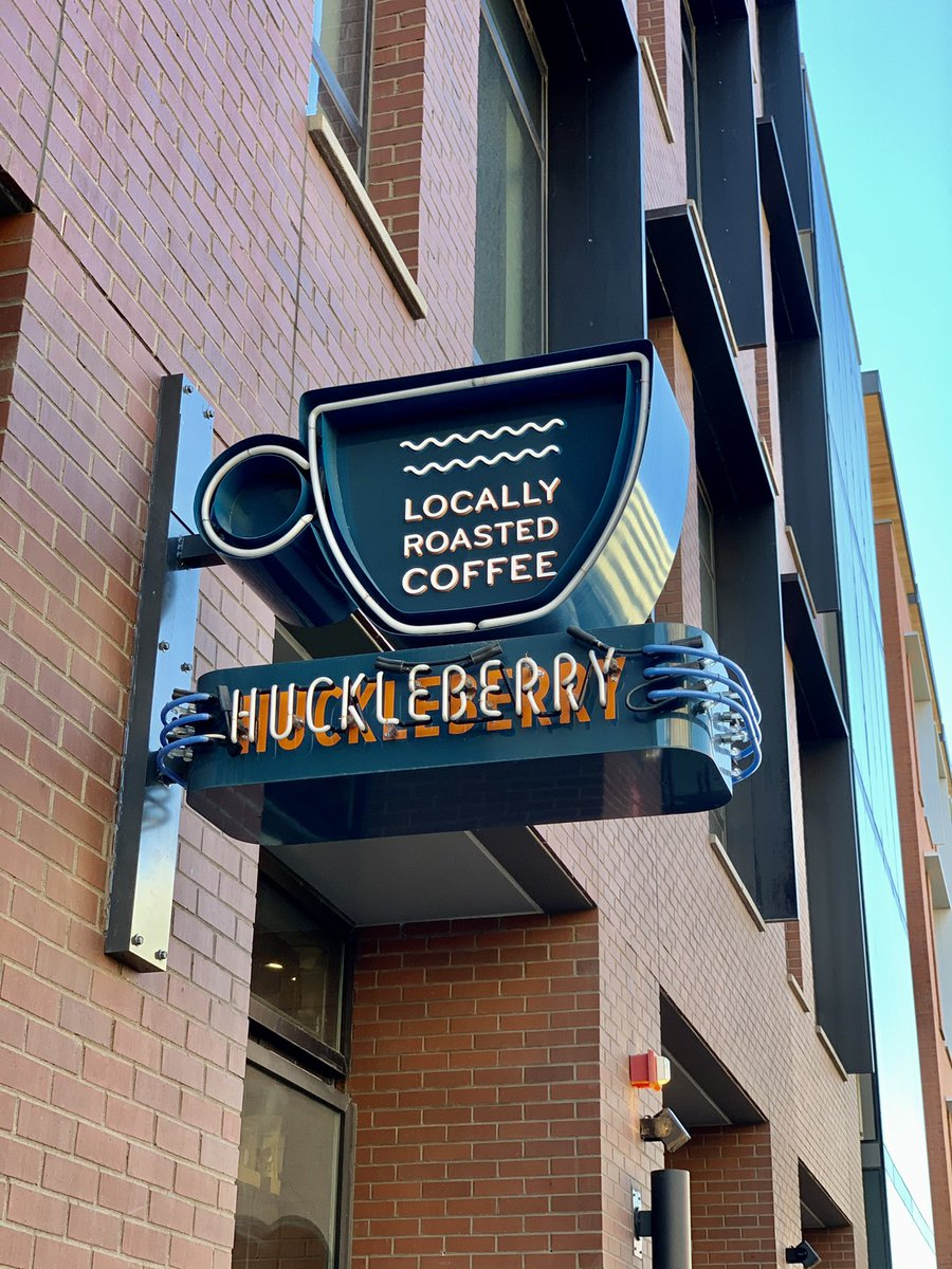 Went to Denver so I could visit Huckleberry Roasters. ☕️ #coronacation #ernestly30 https://t.co/XGkisHsTVx