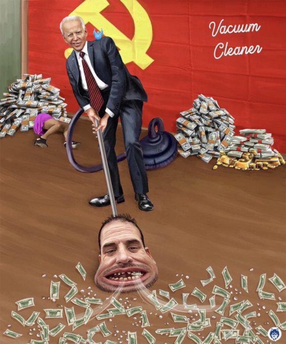 The Biden Family is a vacuum cleaner: #ChinaChinaChina