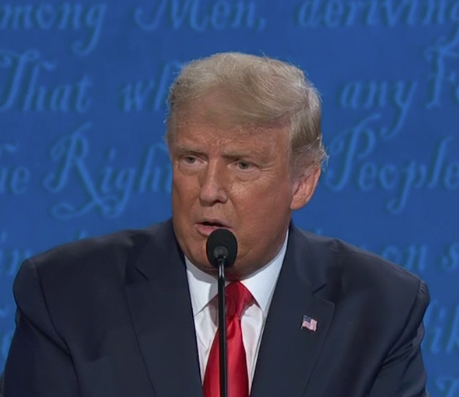 Trump says that he's 'the least racist person in this room' #Debates2020 trib.al/EvZ4DQD