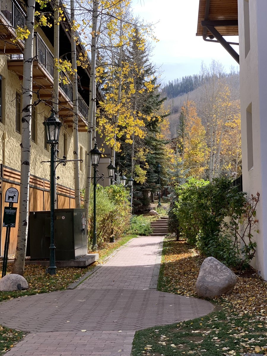 Stopped in Vail, CO. Stunning #coronacation #ernestly30 https://t.co/hnM9QZCRCK