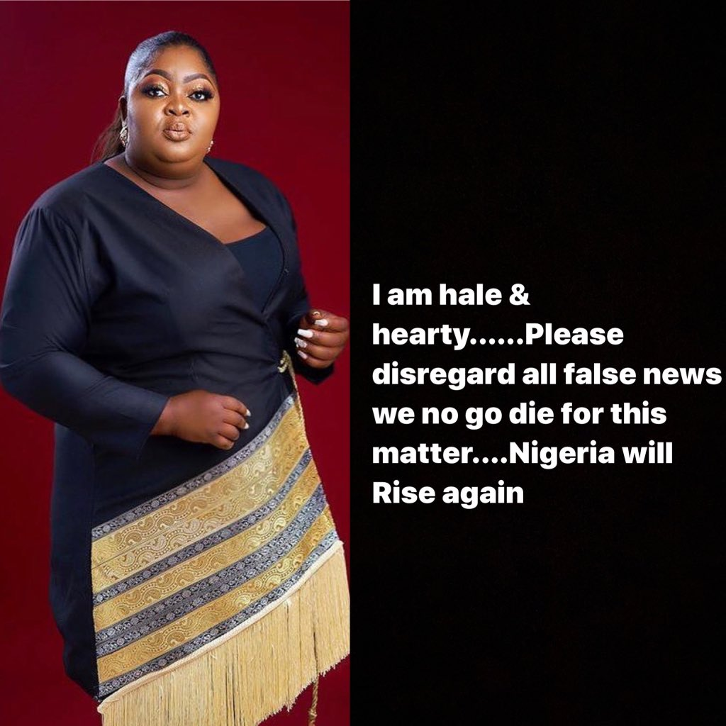 #LekkiMassacre : Please do not cry for me, I am alive -Eniola Badmus