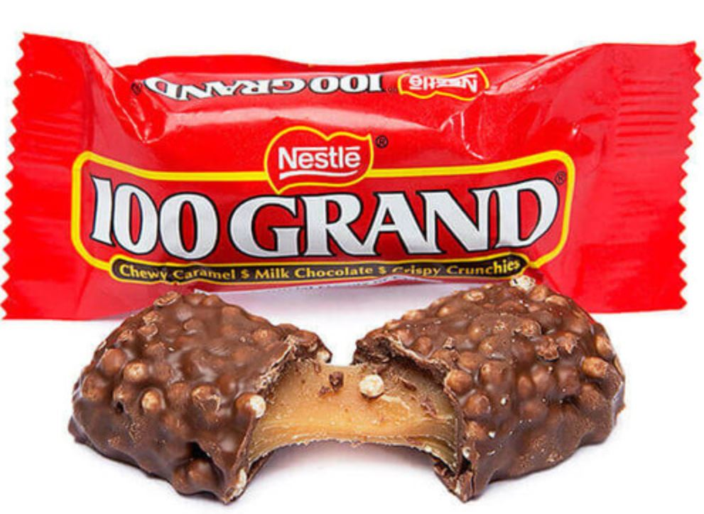 @NickKrupke Where is 100 Grand ? Most Underrated of them ALL.
