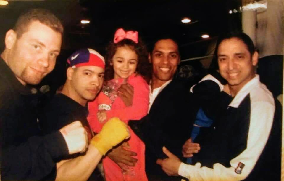 From right to left Friend & Multi Karate Champion Jerry Fontanez, Friend & The Last Dragon Taimak, The Tiger & cousin Dragon Lee i was competing that day. #AnthonyTheTigerCruz #TeamRenzoGracie @Twitter https://t.co/I61Hn2DiFN