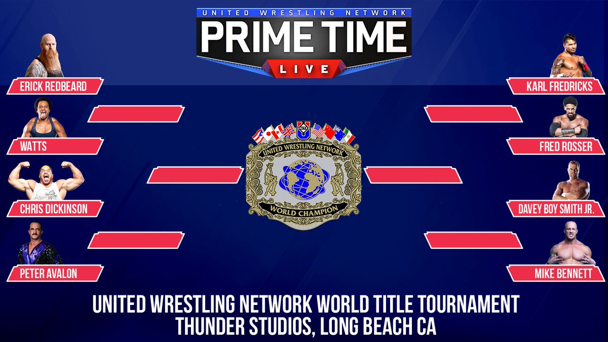 UWN World Title Tournament Competitors Announced, Includes Several Former WWE Stars