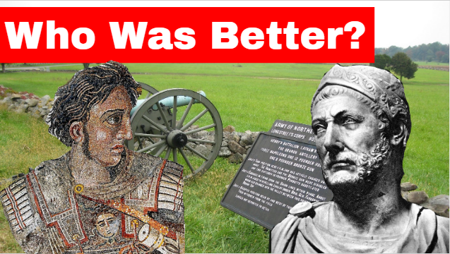 Who was the better commander: Hannibal or Alexander the Great?  #History #Ancienthistory #ancientgreece #AncientRome #MilitaryMonday #Military #Army #Commanders #Betterdays #war #warriors #YouTuber #Youtube #youtubechannel   https://t.co/LsjJmN0NY9 https://t.co/y1I4QsGnen