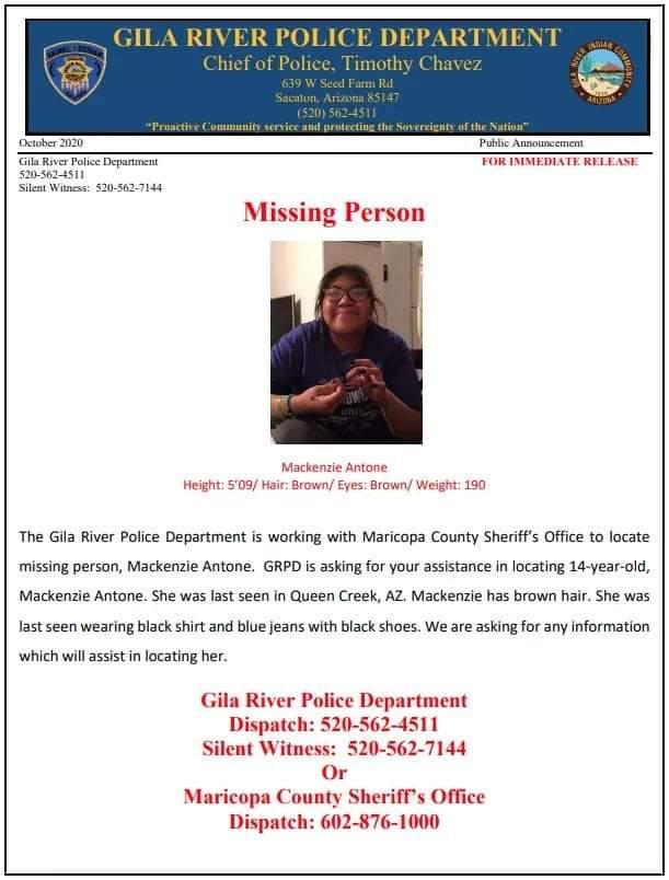 #MMIW #MMIWG  #Missing #MissingPerson  Queen  Park #arizona  https://t.co/t0nhqUCXK1 https://t.co/NmsgQ0siVh