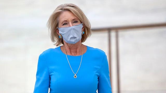 DeVos says it isn't Department of Education's job to track schools' coronavirus reopening plans https://t.co/ukDo9D2JUw https://t.co/4woYDAQsEZ