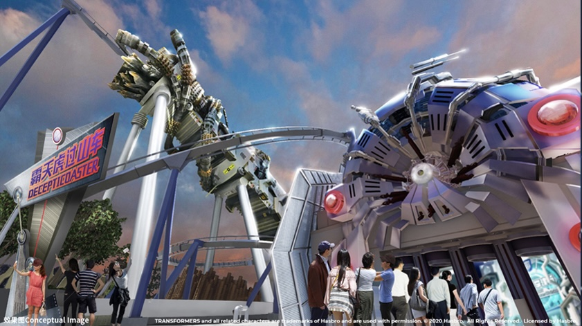 """Alicia Stella on Twitter: """"Transformers Metrobase: • Decepticoaster -  roller coaster • Transformers: Battle for the AllSpark - dark ride •  Bumblebee Boogie - teacup ride (2/7)… https://t.co/ujT4HS6mNj"""""""