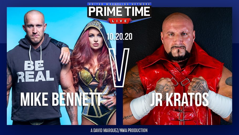UWN Primetime Live Results: Mike Bennett In Action, New NWA TV Champion Crowned
