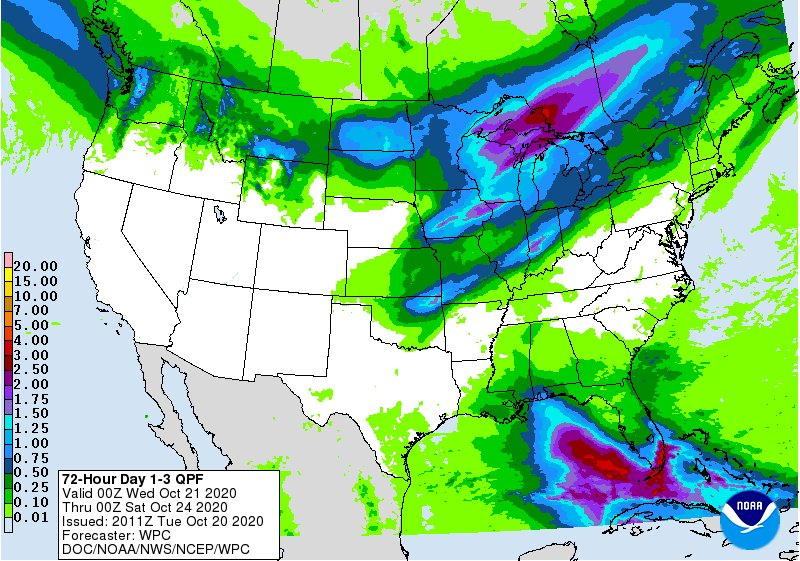 RT @WintzWeather: The next 3 days worth of precipitation in the US: #wkyc #3weather #ohwx https://t.co/W4jrzZZbQU