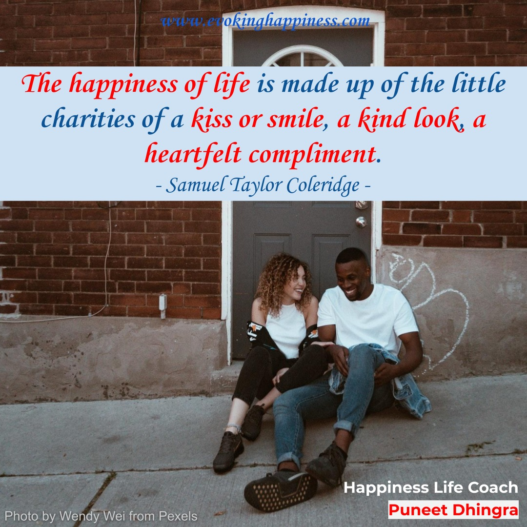 Fill your life with little doses of happiness. #Happiness #EvokingHappiness #SpreadingHappiness #HappinessLessons #HappinessQuotes #HappinessMantra #HappinessTips https://t.co/H4pzvQXHVn