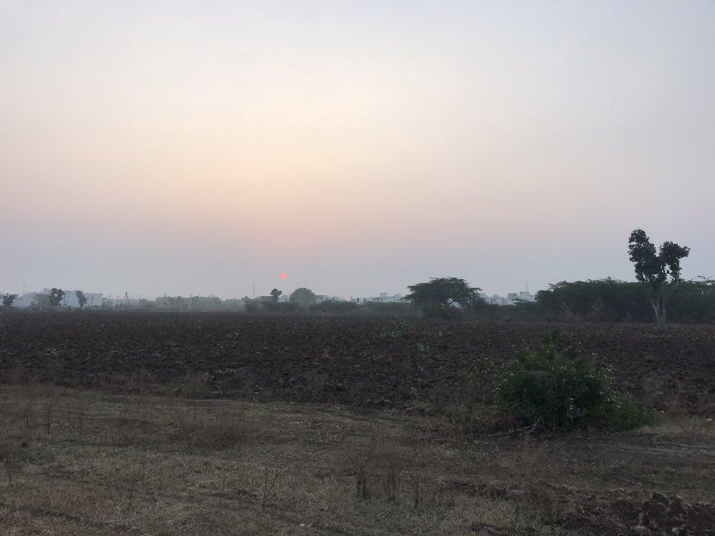 सूर्योदय #SunRise #मेवाड़ @Shunyakal @dineshdangi84 @DevLadpura