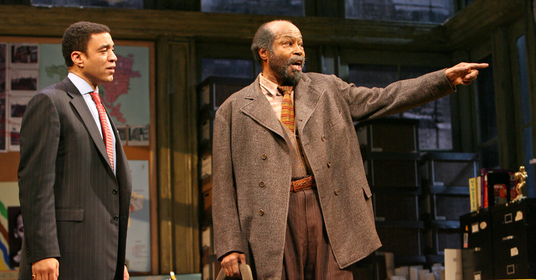 Anthony Chisholm Dies at 77; Acclaimed in August Wilson Roles: The actor appeared in numerous productions of Wilson's Pittsburgh Cycle plays, including four on Broadway. https://t.co/BtRY9qSFm4 https://t.co/7kRjqvCAup