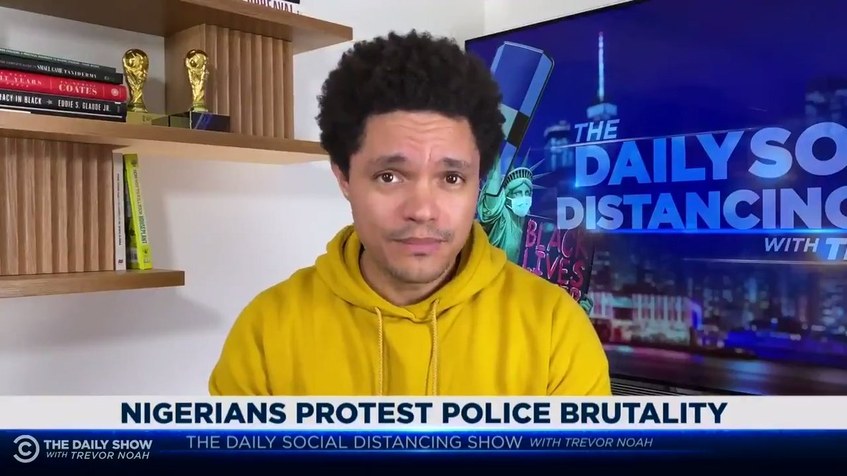Just like we've seen in the U.S., the police in Nigeria are responding to protests about police brutality with more police brutality.