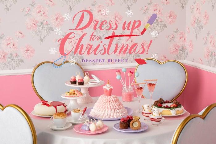 ヒルトン東京ベイで新デザートビュッフェ「ドレスアップ・フォー・クリスマス!」ドレスや宝飾品が美しいスイーツに#スイーツ #デザートビュッフェ▼写真・記事詳細はこちら