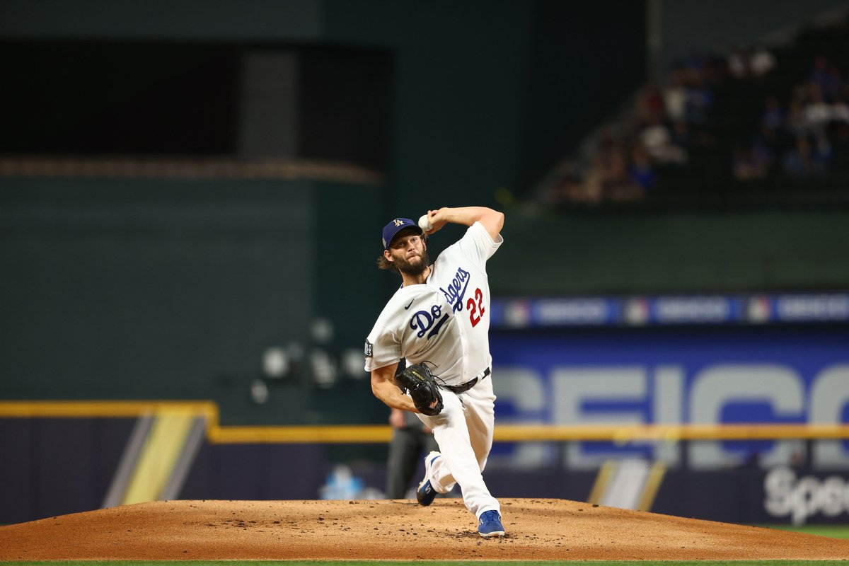 Clayton Kershaw is tied for the 2nd-most #postseason games (6) with 8+ Ks & 1 ER or fewer (Schilling, Beckett). https://t.co/y1MxNng79r  — MLB Stats (@MLBStats) October 21, 2020   #baseball #mlb #homerun #dfs #money #night #love
