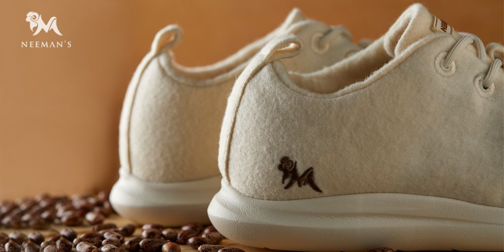 Contrary to shoes made from synthetic fibres that end up in landfills taking hundreds of years to decompose, Neeman's shoes are made from natural materials like Merino Wool, Castor Bean oil and Recycled Rubber, making them really soft and comfortable for all day wear #wearneemans https://t.co/ZLRDec22qW