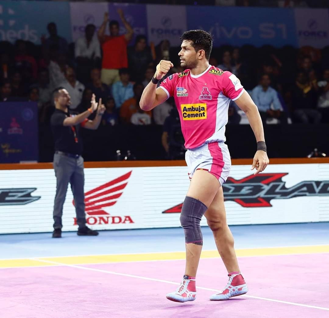 Never stop the hustle inside you.  . . . #Training #Fitness #Kabaddi #Athlete #Stronger #Strong #Fit #Health #DNH #Nutrition #RoarForPanthers #TopCats #ProKabaddi