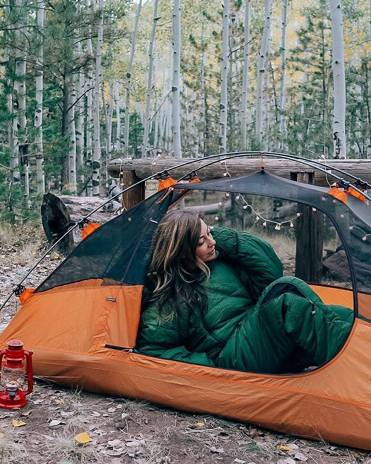 What do you think about this sleeping bag? . Check-out more amazing sleeping bags from https://t.co/14slJ4zWQC Follow @kingcampofficial for camping contents in the wild . . . Credit to hike4beauty . . . . #kingcamp  #tent #tentcamping #tents #campingtent #tentview #tentlife https://t.co/1rUhakKhaj