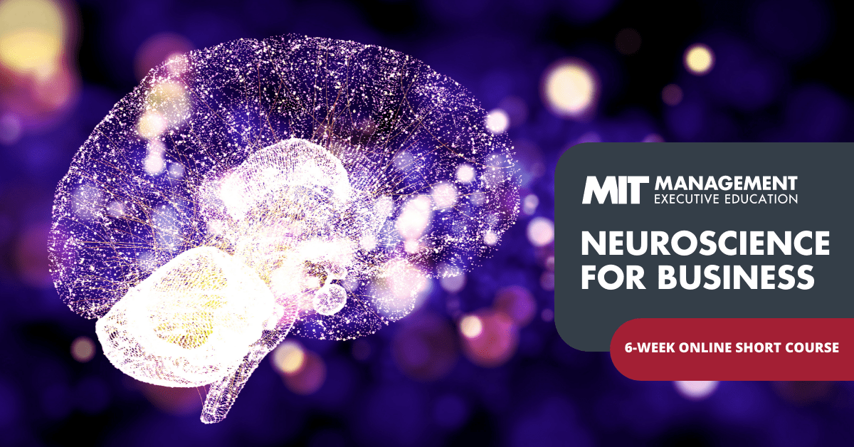 Rewiring your brain is the first step to rewiring your business. Learn why with this new program from @MITSloanExecEd. https://t.co/R6iBIWPkW9 https://t.co/21SpDATx3u