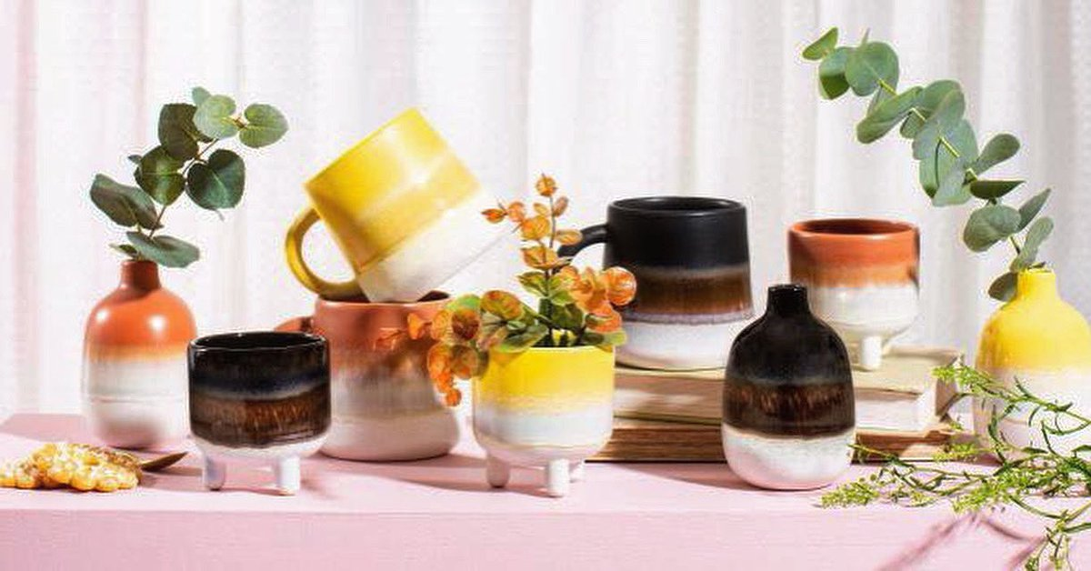 ✨ welcome to the family ✨  We've added some new additions to our Mojave collection, which is a big favourite amongst you all.   We now have Mini Planters, Mini Vases and Glaze Mugs all in orange, black and yellow. 💕🏡  Don't miss out on these!   https://t.co/qzYC01SyVd 💞 xx https://t.co/rMLfimmY6s