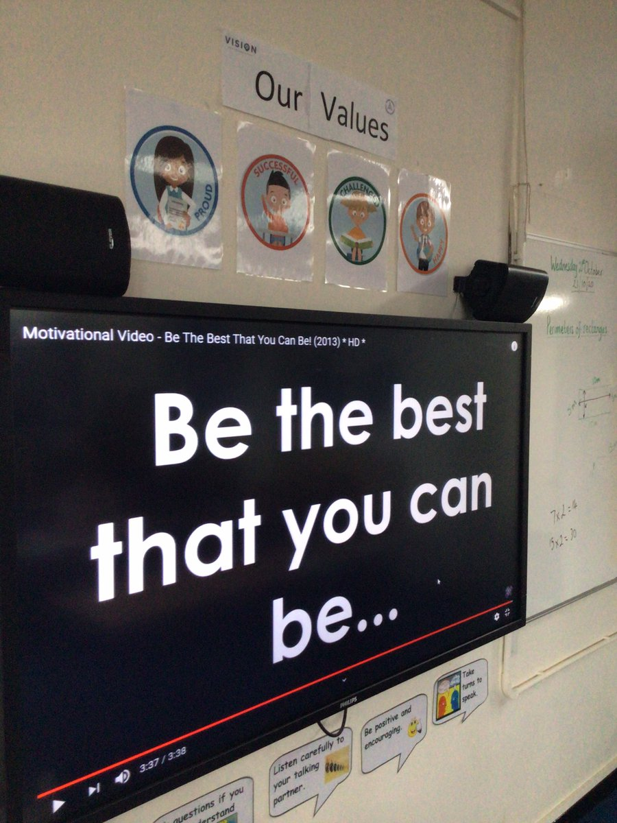 This mornings assembly theme 'Be the best that you can be...' we discussed what this meant to us and we had some fantastic answers. It's been a difficult term but one that there has been plenty to celebrate. Thank you #happy #challenged #proud #successful https://t.co/AmCd2WfNYP