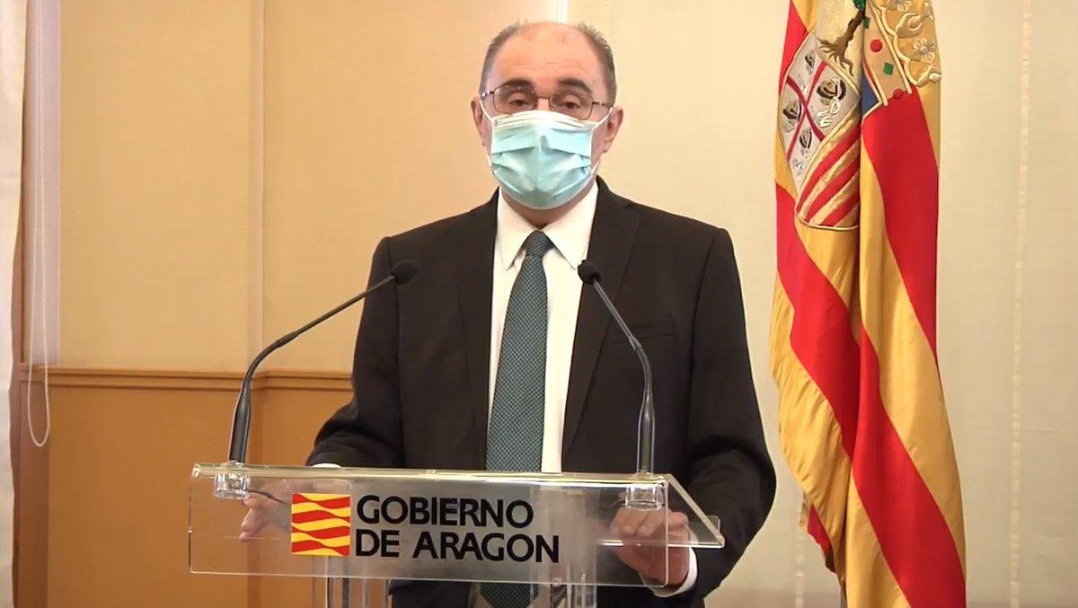 Confinados. Y a partir de la semana que viene todo Aragón a nivel 3. #Aragon #Zaragoza