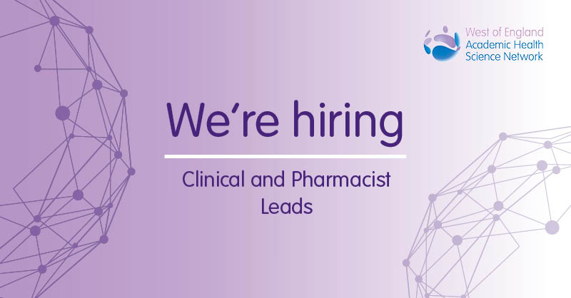 Apply now for our Clinical and Pharmacist Lead posts!   Deadline for applications is Friday 30 October.  If you're a senior clinician or pharmacist interested in improving patient safety & adoption of innovation, we want to hear from you.   https://t.co/8p7VK1W6Gb https://t.co/25qo9AqIs5