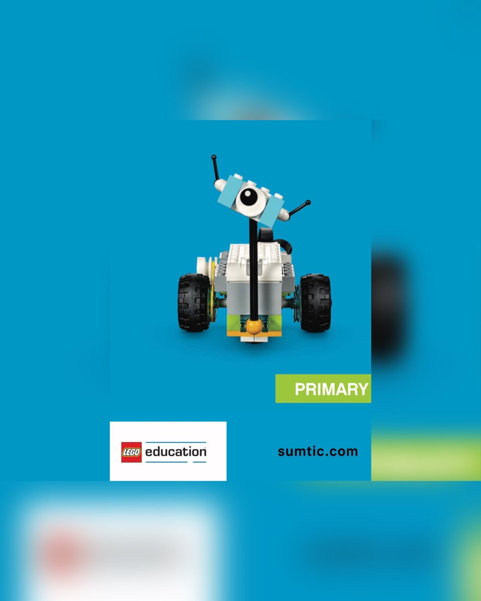 Un kit EDUCATIVO LEGO WeDo 2.0 de @LEGO_Education específico a la enseñanza de #Educación Primaria, materia Ciencias y #Robótica consiguiendo desarrollar habilidades #STEM. Más soluciones educativas info@sumtic.com @SUMTIC_EDTECH https://t.co/67Iy7DEMVg