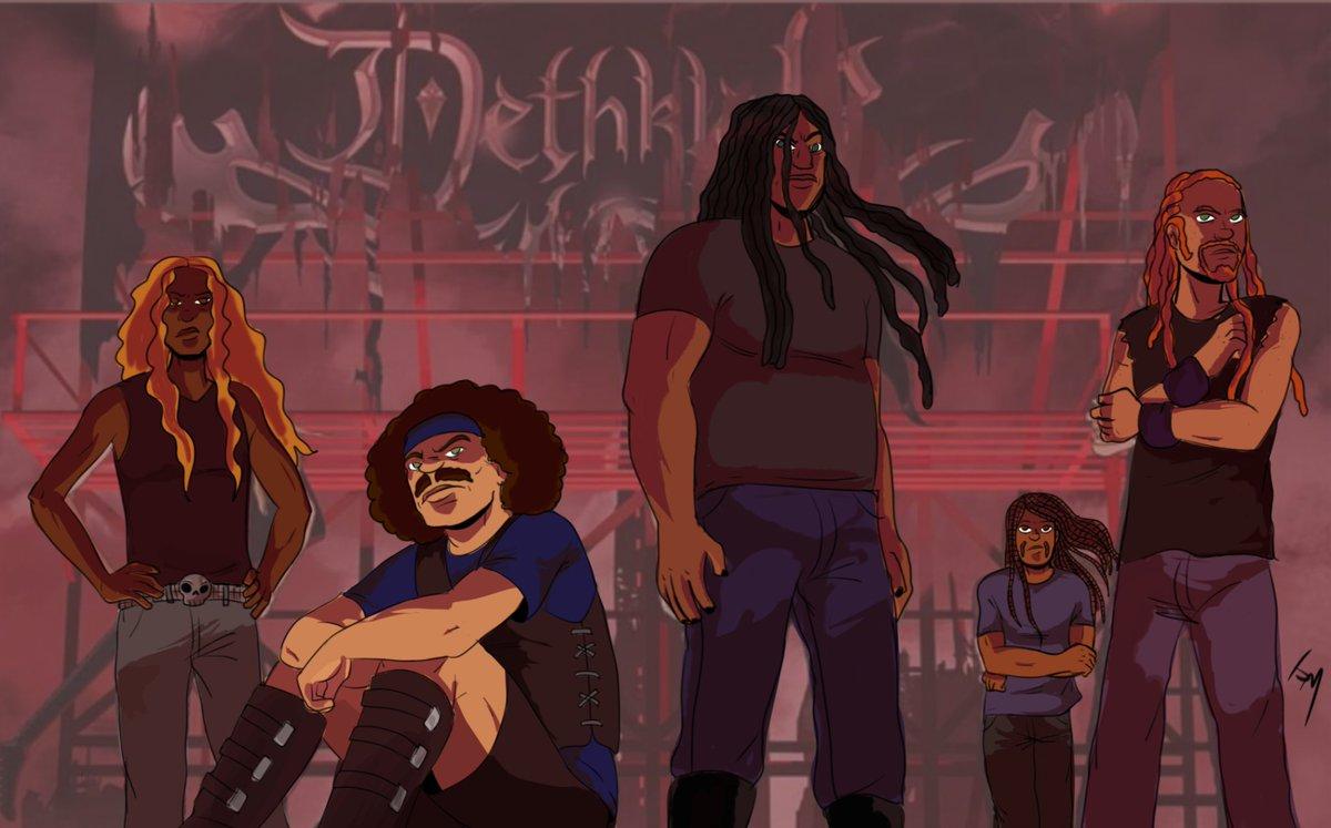 """Blacker than the blackest black times infinity."" [#blacktober #metalocalypse #dethklok]"