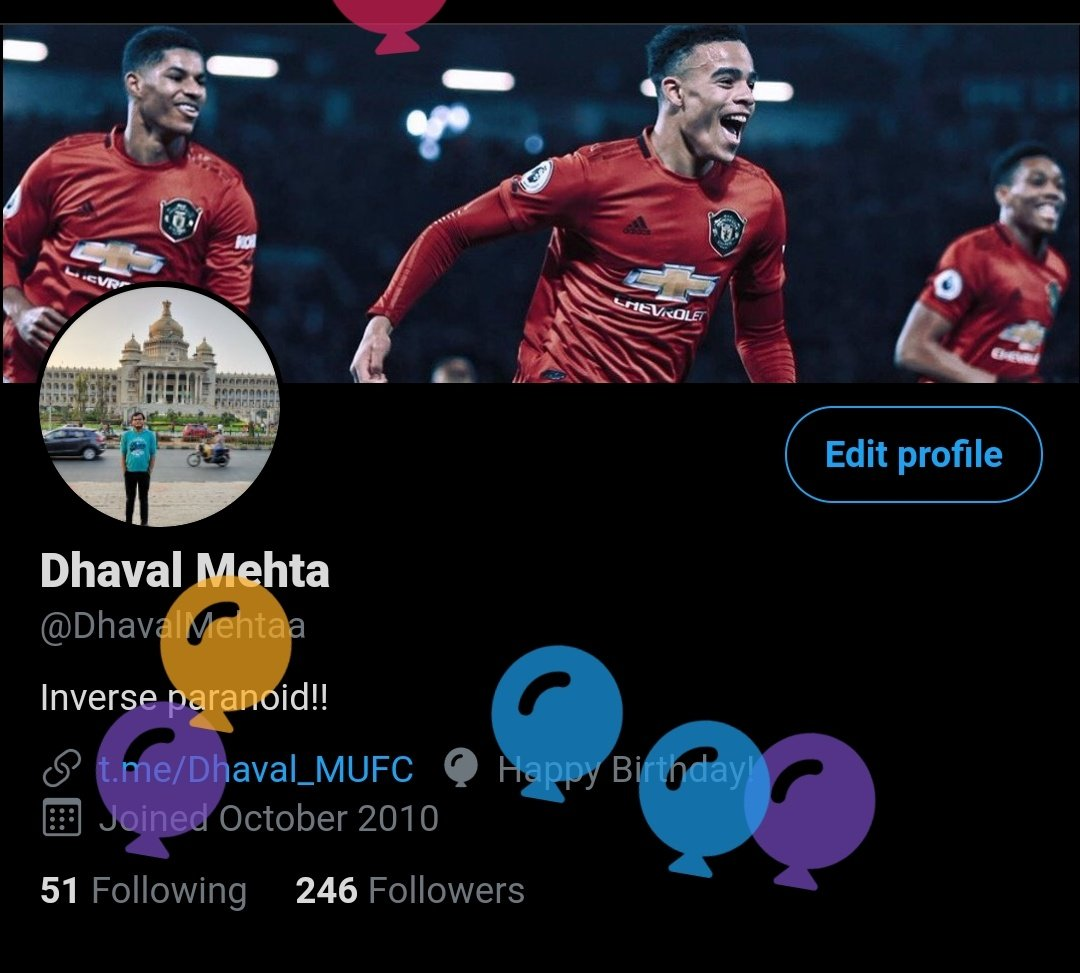 Thank you @Twitter for your wishes!  Kind gesture 🙏🤗 https://t.co/m1dyC37Fcr