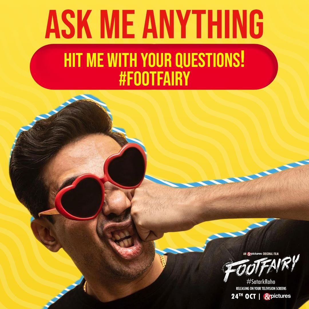 Kya Gulshan ke toothpaste mein namak hai? Kya usse melody chocolaty lagti hai? Aur yeh Footfairy kaun hai? Got questions?  Go to https://t.co/ctoKzf1fuD and ask away, the man himself will answer.   #FootFairy #SatarkRaho #ANDPictures @gulshandevaiah https://t.co/4d1UnXoUJA