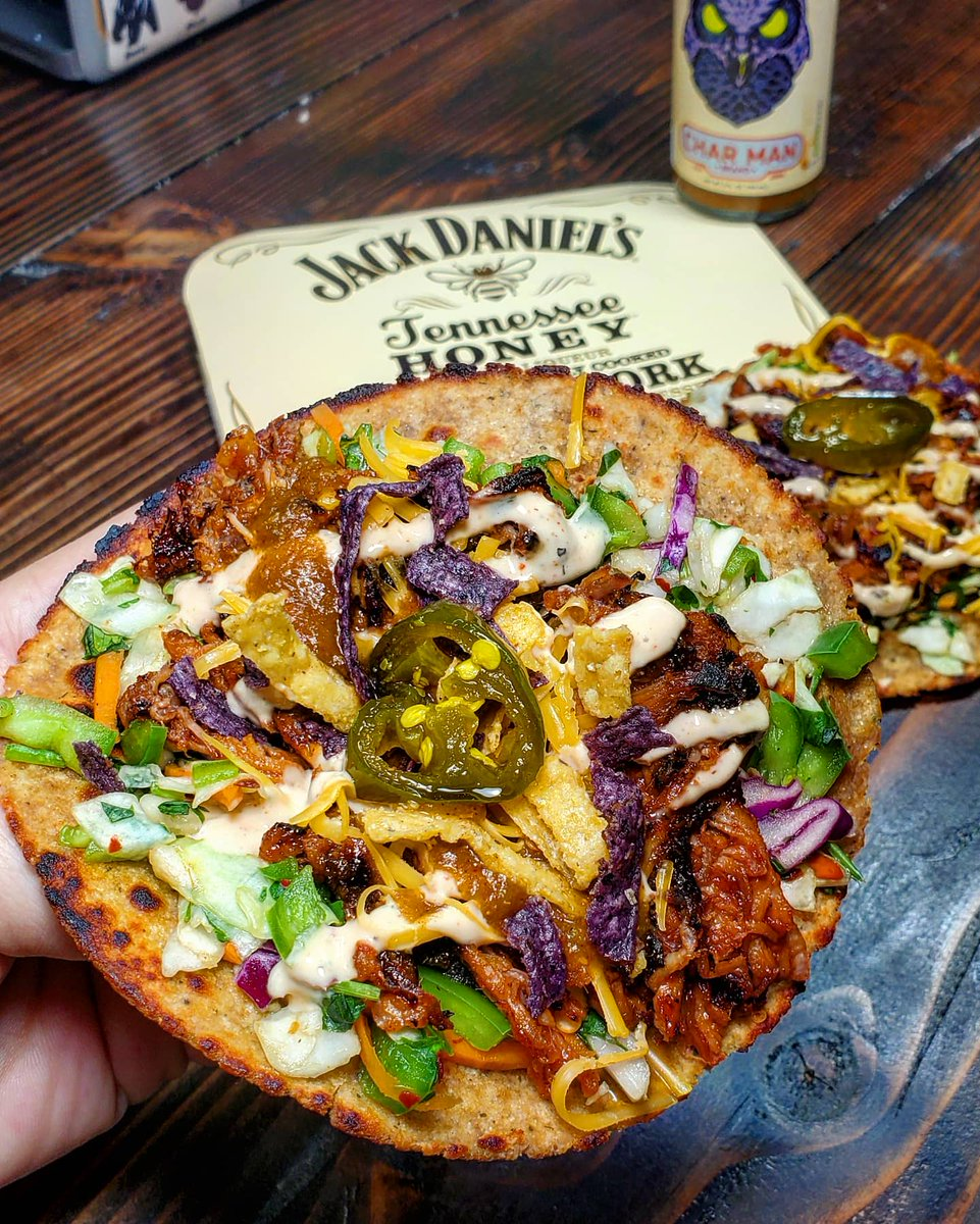 @JackDaniels_US #Tennesseehoney pulled pork tacos....#TacoTuesday https://t.co/cwC8uqLbEa