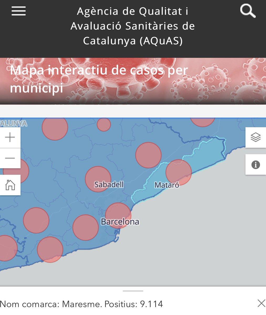 🦠DADES 20/10/2020. #Maresme : 9.114 📑 #Tiana : 227 #Alella 267 #Montgat 237  #ElMasnou 412 #covidMaresme  #Badalona 6.565 https://t.co/K6G2CBU4E2… https://t.co/wIfitFm5mb