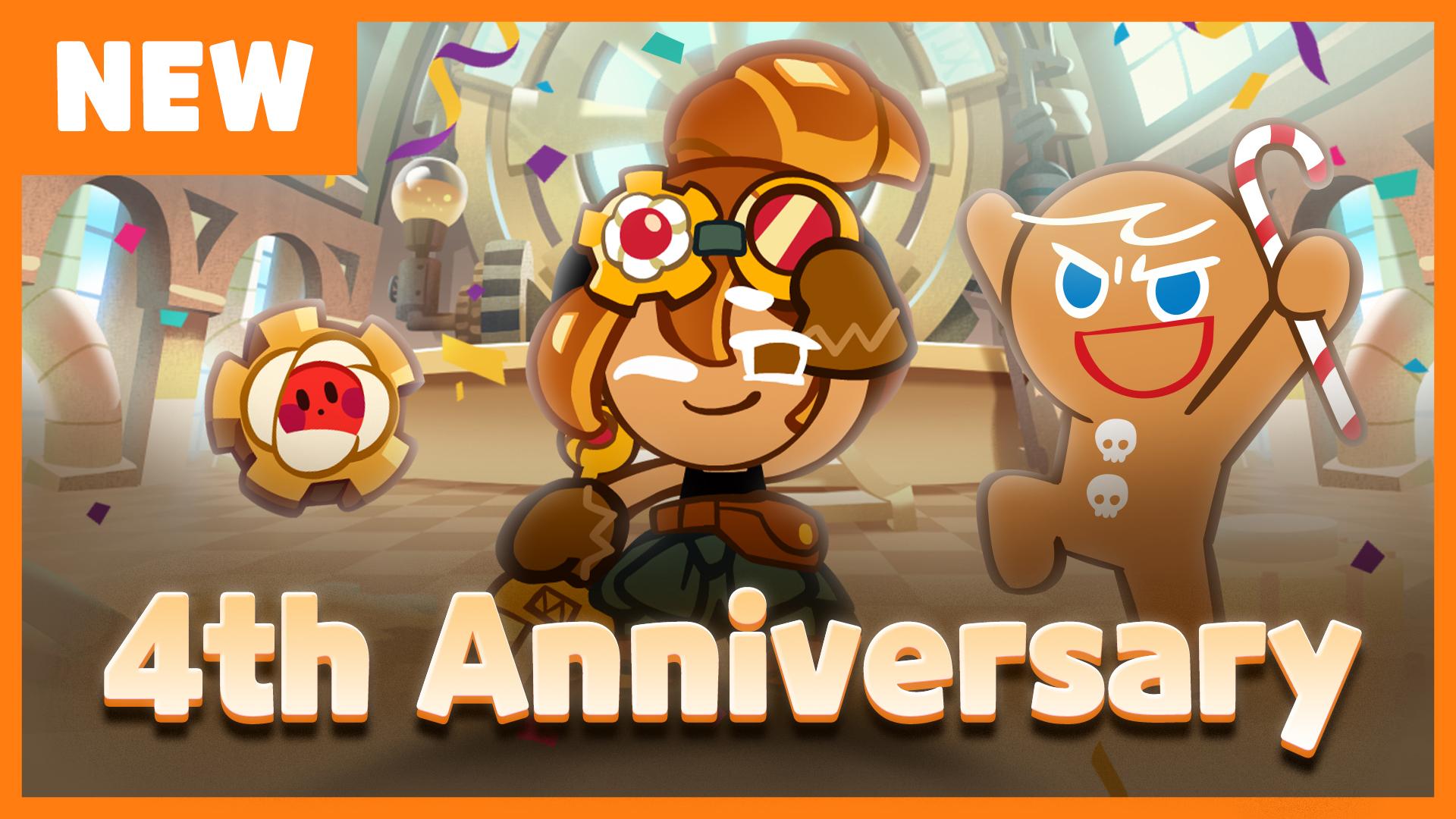 Cookie Run 4th Anniversary Update