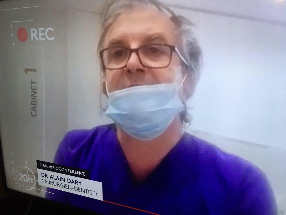 Quand je vois le mauvais exemple que donne ce médecin sur le port du masque face à 5 à 7 millions de téléspectateurs du 20h de @France2tv, certainement par négligence, je me dis qu'il reste du pain sur la planche... 🦠 #COVID19 #coronavirus #pandémie https://t.co/WY1QlXviLR