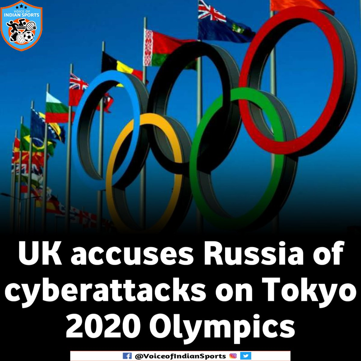 The UK has accused Russia of carrying out a series of cyberattacks on the 2020 Summer Olympics in Tokyo -- scheduled to take place in Tokyo in July, 2020 but was postponed due to the coronavirus pandemic.  #Olympics https://t.co/SnZgsy4y57