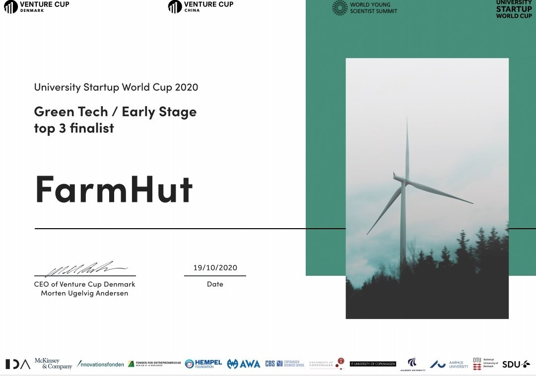 Always grateful for accomplishing such milestones. Being an African Startup being recognized globally goes a long way! 🇿🇼🇿🇼🇿🇼 FarmHut #venturecup #USWC #innovation #entrepreneurship #startups #socialimpact #entrepreneurs