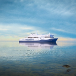 Image for the Tweet beginning: The most eco-friendly passenger ferry