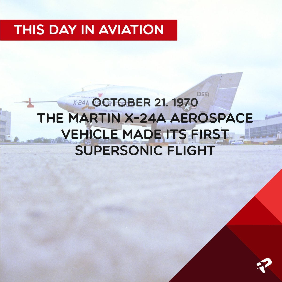 October 21, 1970 (USA): The Martin X-24A aerospace vehicle makes its first supersonic flight.  #AviationTrivia #Aviation #AviationFacts #AviationDaily #AviationLover #ProdigyAviaSolutions #AviationHistory https://t.co/aoiJ9lzxow