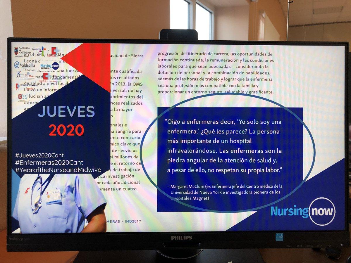 @DUEdevocacion @MeryVGB @AdelaidaZabale1 @chuchencio @lore_efyc @PauMatalap @soriano_p @EnfermerasenRED @PazMompart @mariazamorarj @NuriaDeArgila Revalorizando la #autoestima para el impulso profesional #NursingNow ;) https://t.co/M8PgtIbmMC