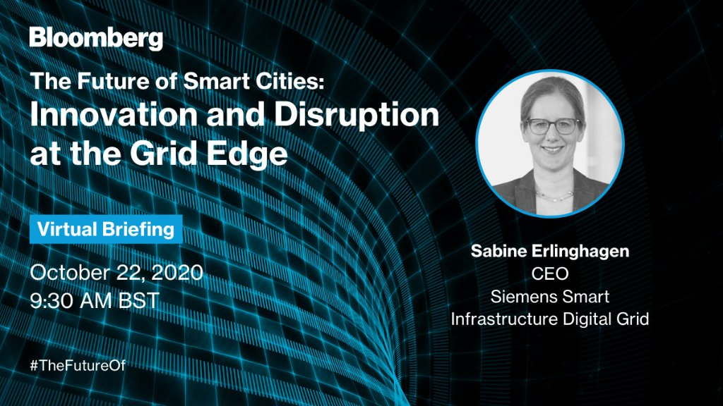 How can #digitalization enable a new way for energy production, storage and consumption to work together seamlessly? Don't miss @SabineErlingha1 discuss disruption at the #GridEdge! Sign in here: https://t.co/ikHg3OuG9C   @BloombergLive #TheFutureOf https://t.co/MQsrjn1ioY