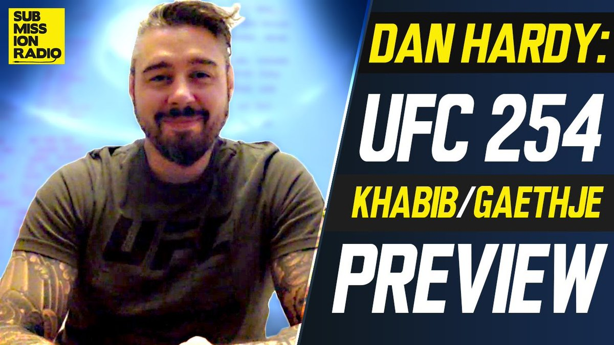 Submission Radio #UFC254 Preview Show w/ @danhardymma OUT NOW 🍿  📺: https://t.co/stdcc9ClNJ https://t.co/BqSdXyQLw6
