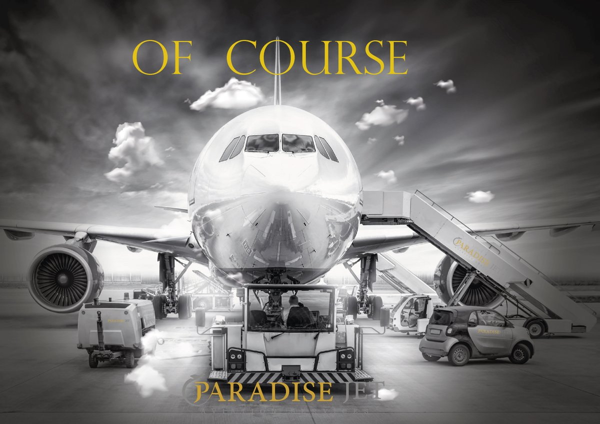Of Course PARADISE JET always ready to support YOUR flight  Contact us: ops@paradisejet.aero   Mobile: +905454452940   #Paradise_jet #jets #flights #support #growing #handling #groundhandling #fuel #overflight #permission #landing #charter #catering #HOTAC #PAX #passenger #PVT https://t.co/92FYpUfWHA