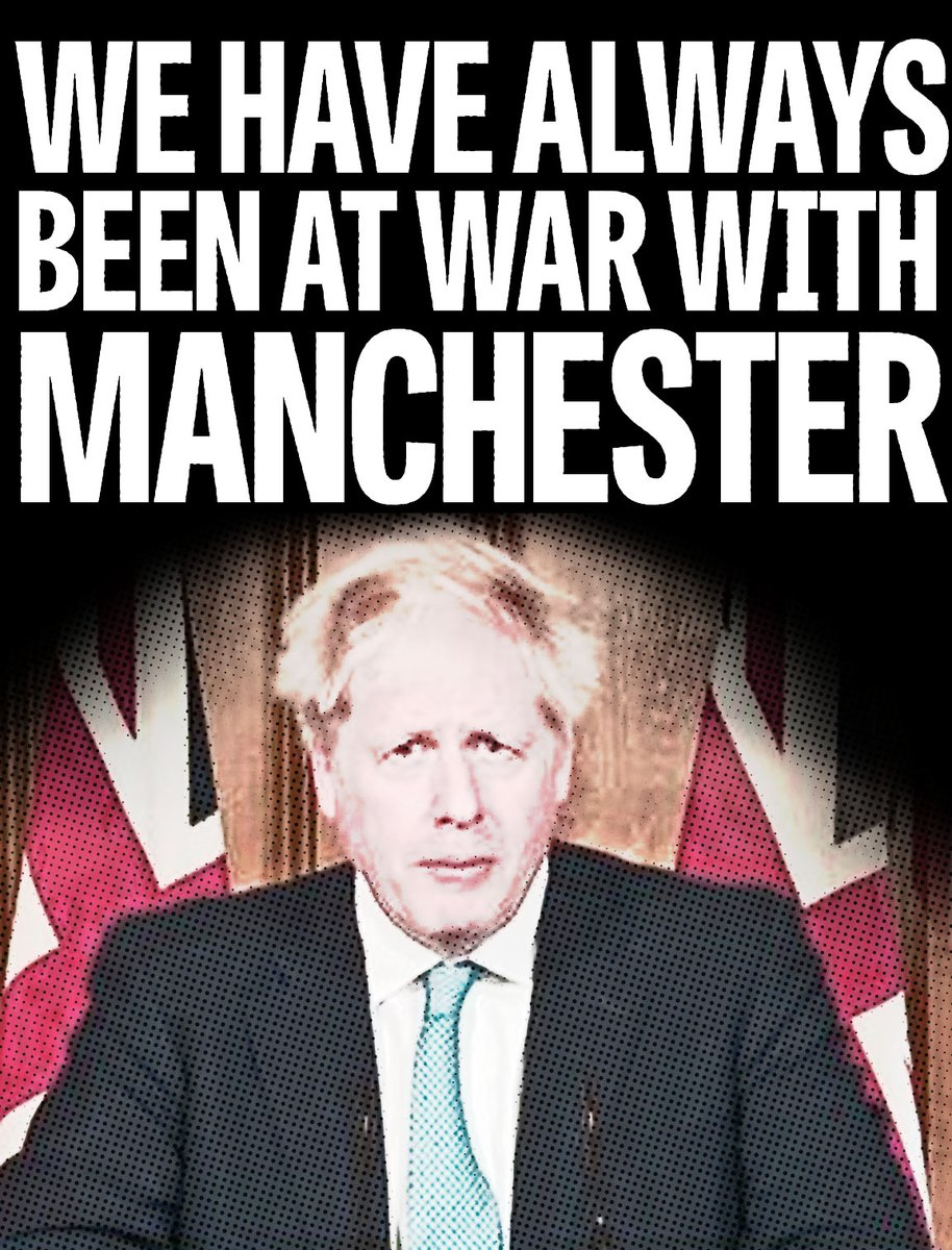 We are at war with Manchester.